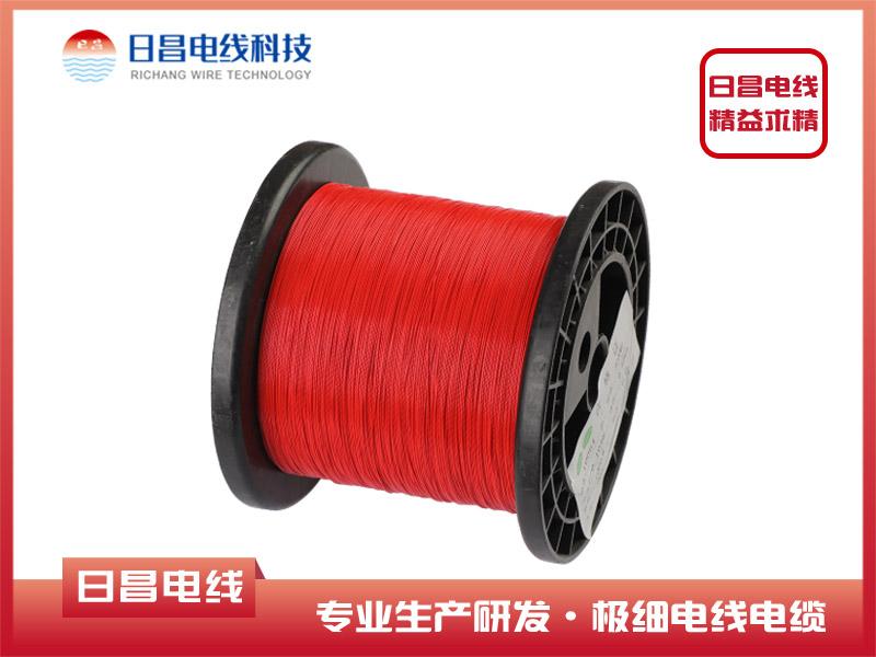 10064 红色极细高温铁氟龙电子线