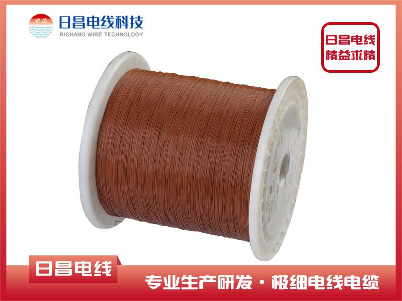 10064 棕色极细高温铁氟龙电线